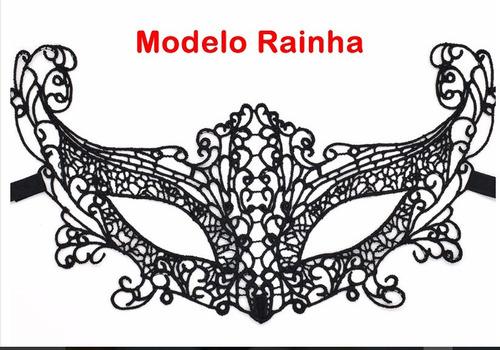 máscara de renda ajustável 50 tons baile debutante carnaval