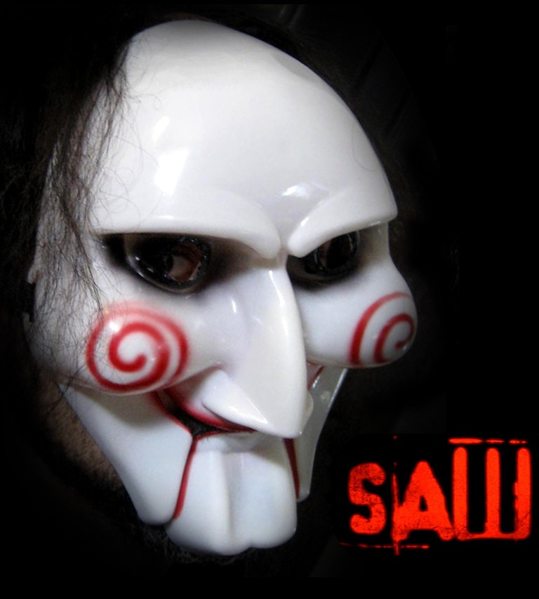Mascara De Saw De Pvc Plástico Rígido! Careta, Halloween, Fx ...