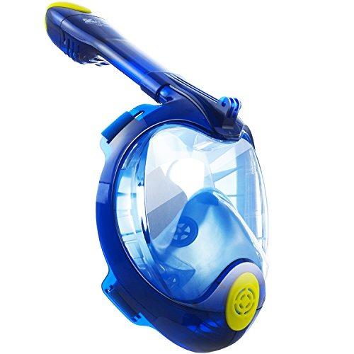 22ad21259 Máscara De Snorkel Cara Completa 180 ° Ultra-wide Gopro Másc ...