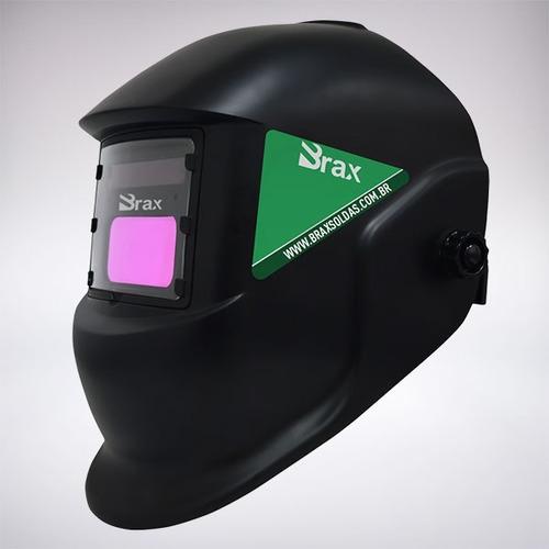 máscara de solda automático profissional brax