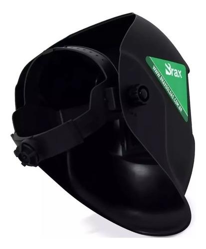 máscara de solda regulagem automática brax  + esquadros