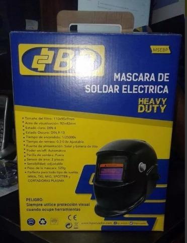 mascara de soldar eléctrica marca bp