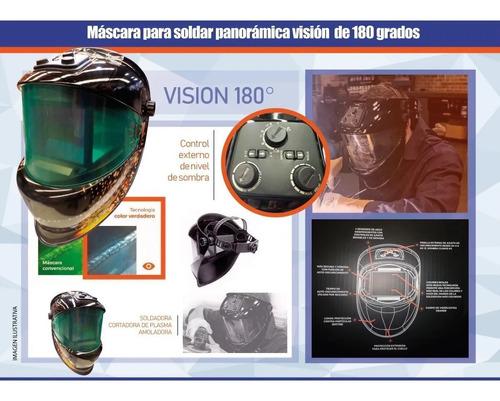 mascara de soldar fotosensible panoramica kushiro