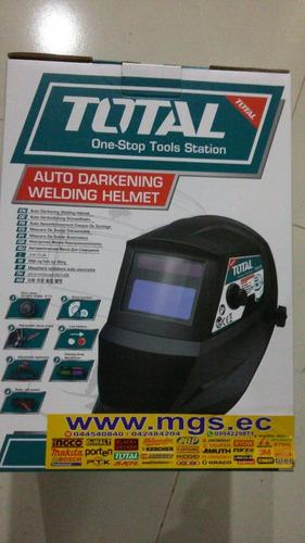 mascara de soldar total fotosensible