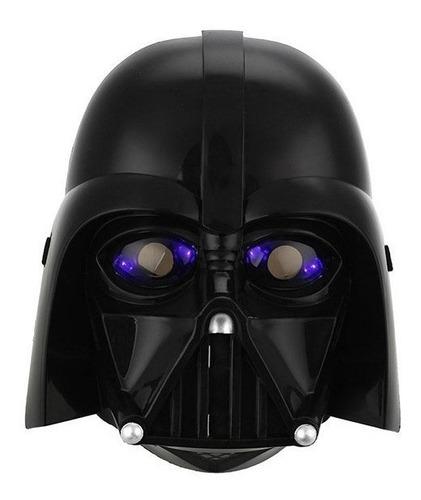 mascara de star wars led, halowin, darth vader, 15x15x15cm