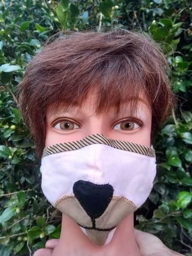 mascara de tecido  esterilizada (4 unidades)