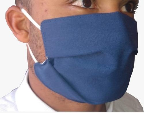 máscara de tecido lavável - 10 pacotes c/ 10 unidades