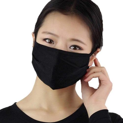 máscara de tecido reutilizável para proteção respiratória
