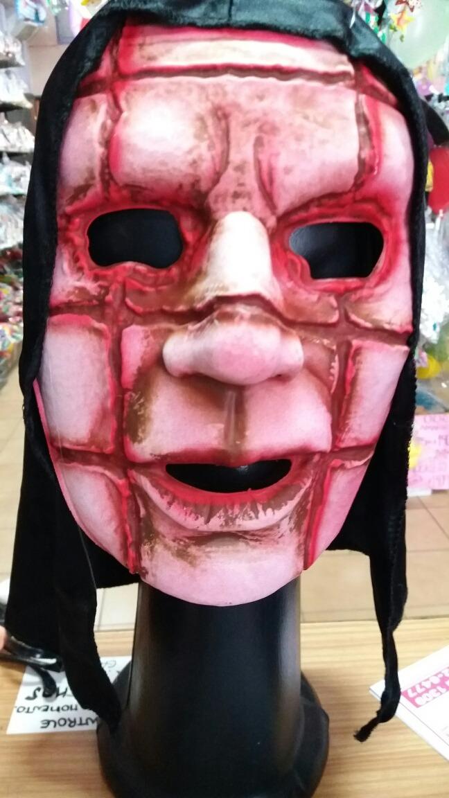 Mascara De Terror Cortado Cotillon De Halloween Funbren 15000 - Mascaras-de-halloween-de-terror