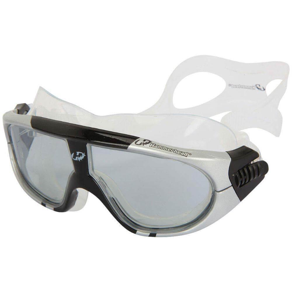c50036936 máscara de triathlon extreme hammerhead fumê / preto / prata. Carregando  zoom.