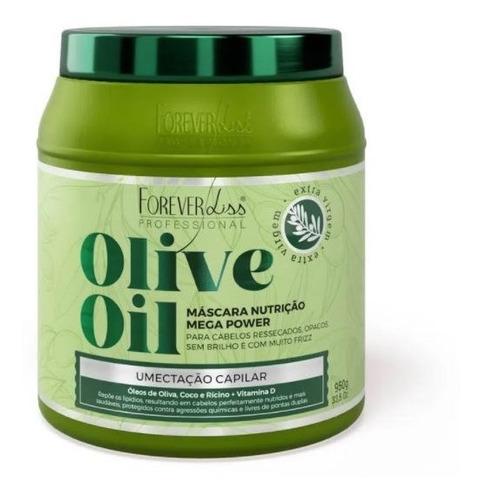 máscara de umectação capilar olive oil 950g forever liss