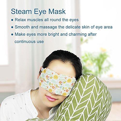 máscara de vapor personal suave con calentamiento automático