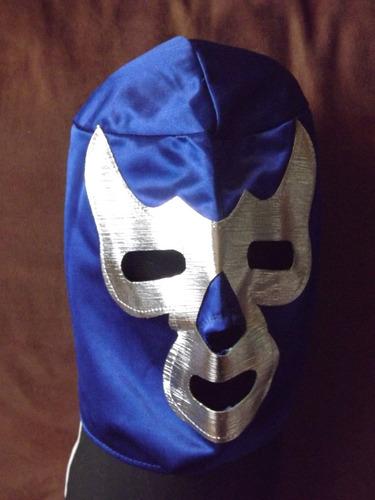 máscara de wrestler - lucha libre - méxico - blue demon