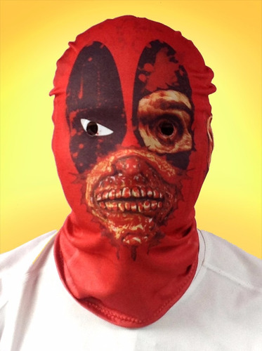 máscara de zombie