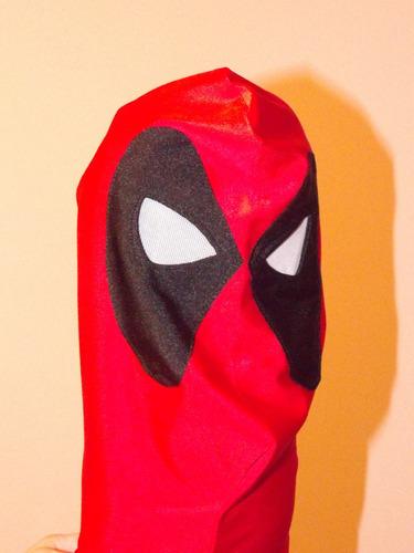 Máscara Deadpool - Cosplay Mask - Spandex - R$ 169,99 em ...