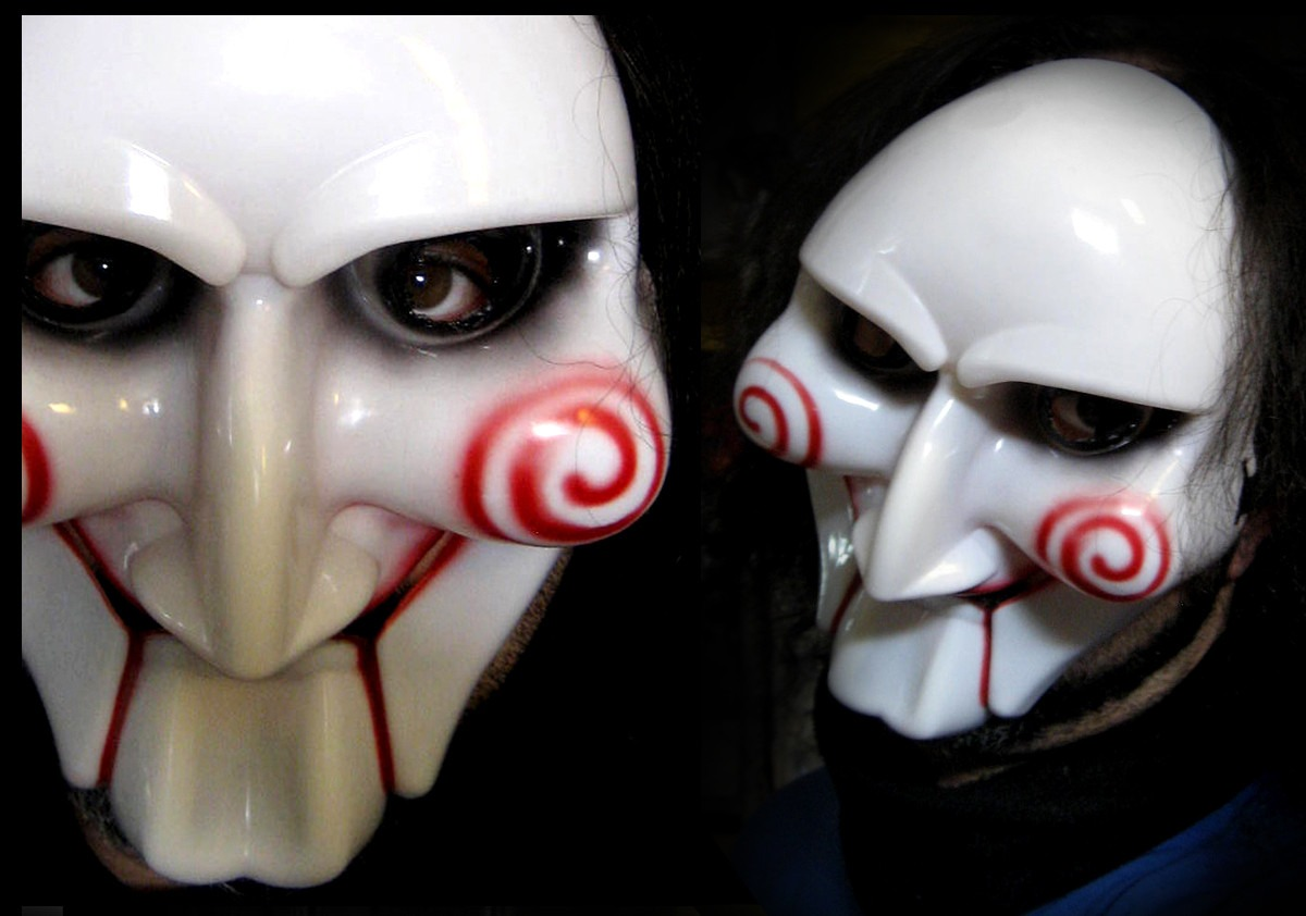 Mascara Del Juego Del Miedo Fiesta De Disfraces Teatro Saw 420