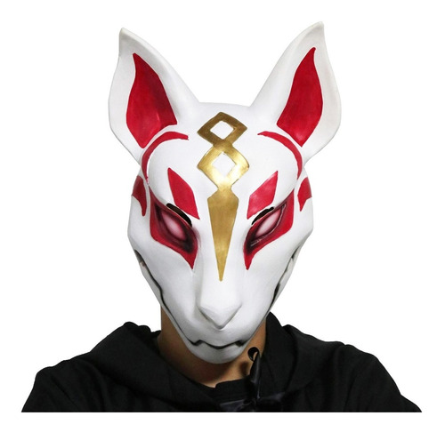 mascara deriva fortnite plástico halloween / lhua store