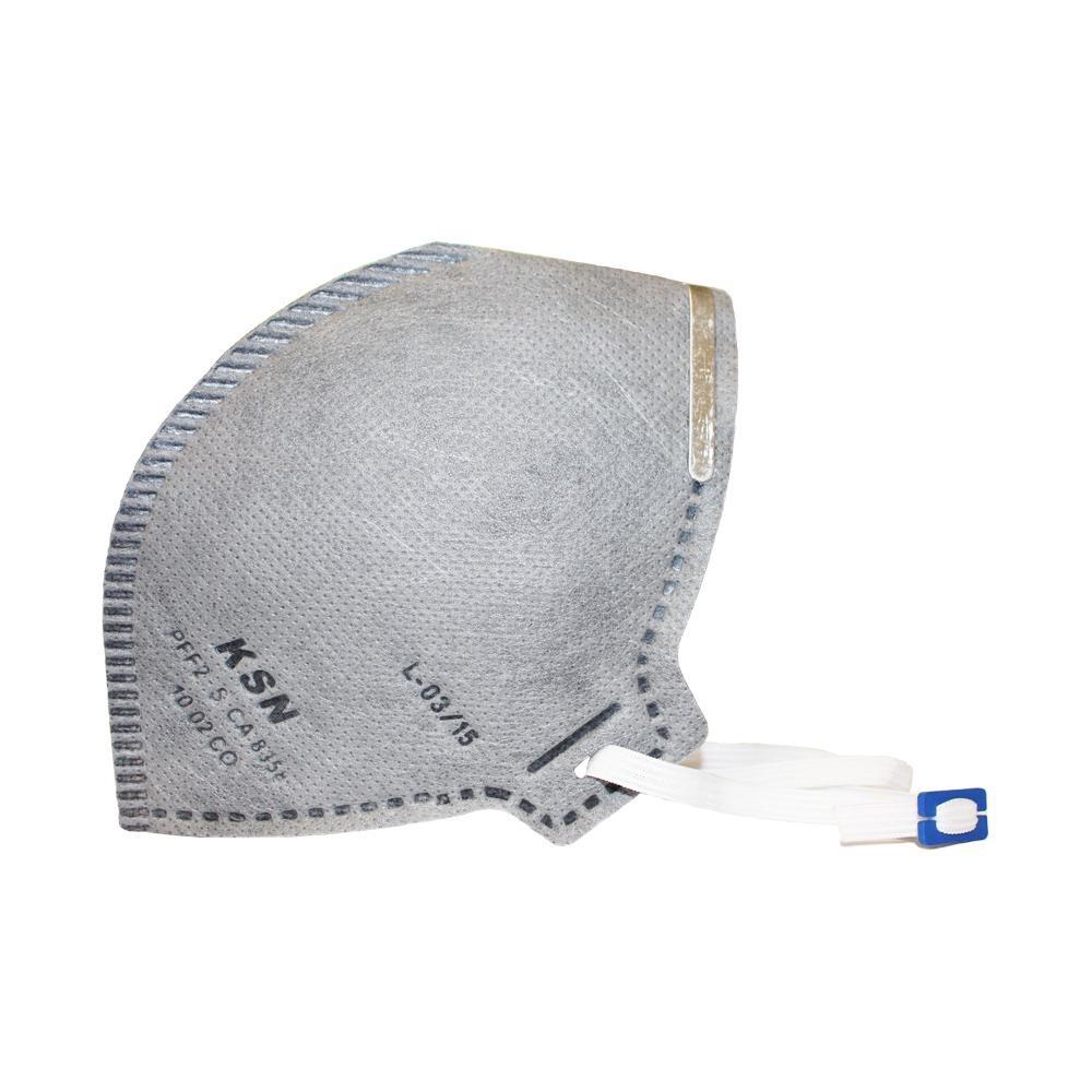 135e3cbfb4b0e máscara descartável carvão ativado pff2 ksn. Carregando zoom.