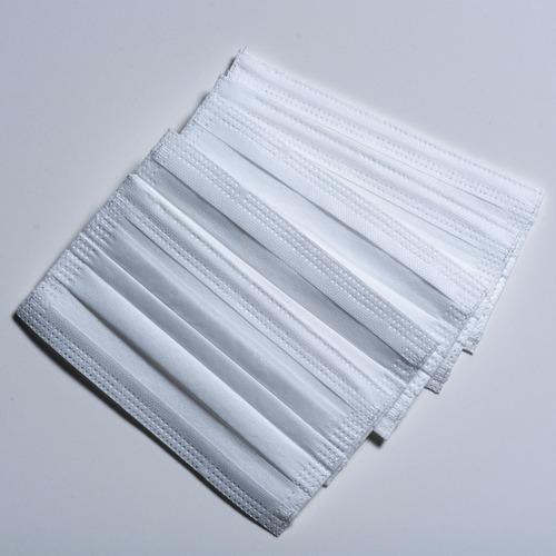 mascara descartável clip nasal tnt 100 unidades c/ elástico