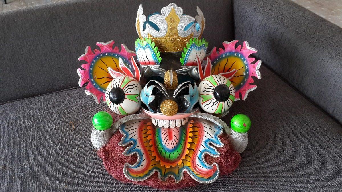 999 Mascara Diablo Metal Diablada Altiplano Carnaval Bolivia3 SUzVqMp