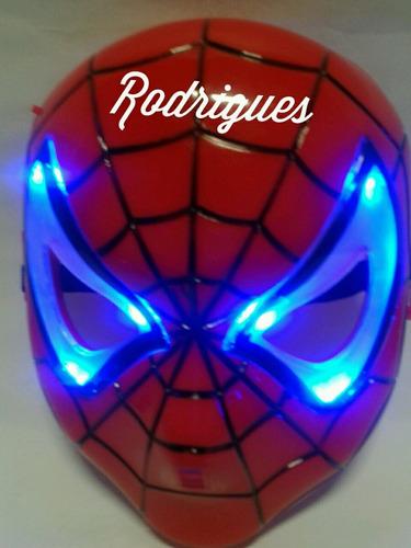 mascara do homem aranha lightin