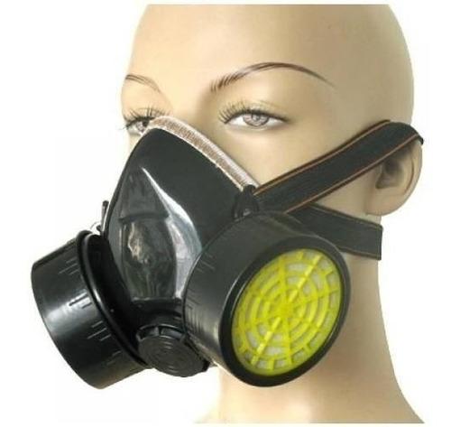 mascara doble filtro para polvos pinturas y gases davidson