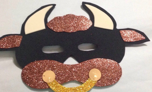 mascara en fomi foami fomy de toro