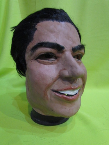 mascara en latex - carlos gardel