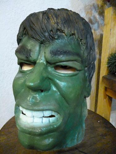 mascara en latex. hulk.