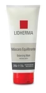 mascara equilibrante pieles grasas 200gr lidherma