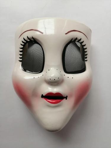 mascara extraños pelicula purga malo terror hombre mujer