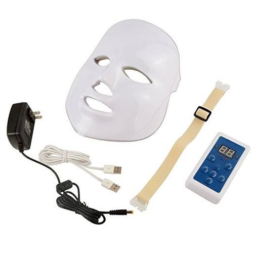 máscara facial americana fotodinámica led7 colores peru lima