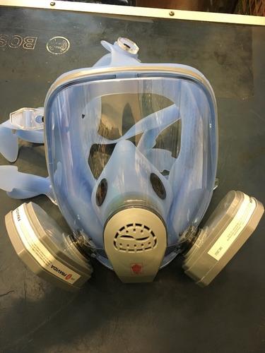 mascara facial completa dos filtros apta nitrometano