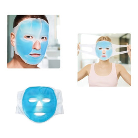 Mascara Facial Gel Frio Caliente Antifaz