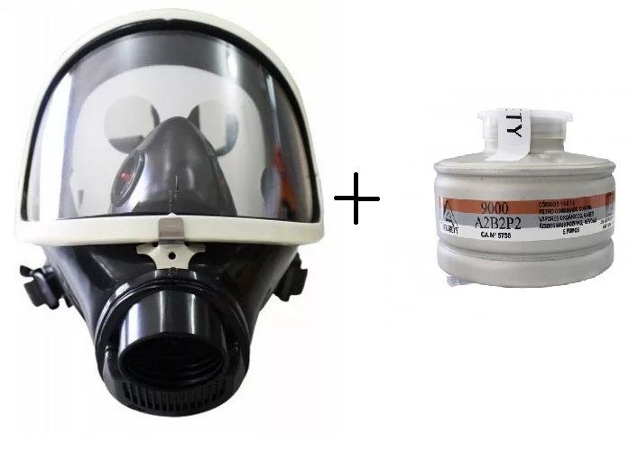 d12d7c6adecae Mascara Facial Panorâmica Full Face Air Safety Ca Epi - R  495