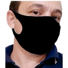 Mascara Facial Poliester Tripla Protecao Kit 5 Ions De Prata