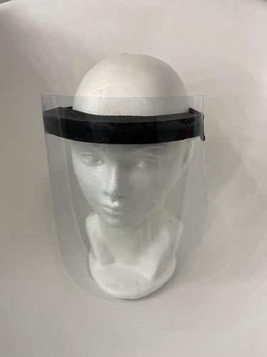 máscara facial protectora de ojos, boca y nariz.