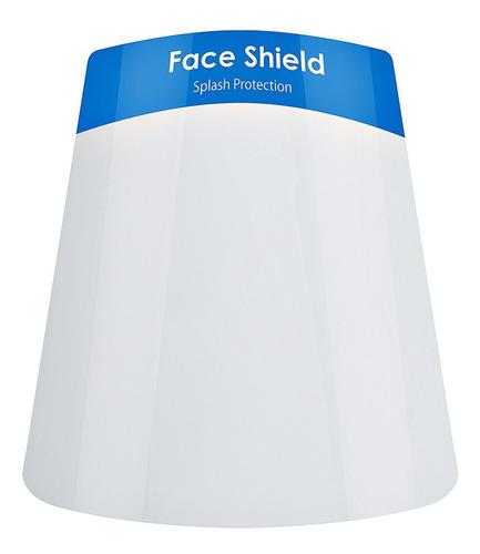 máscara facial protetora anti respingos face shield