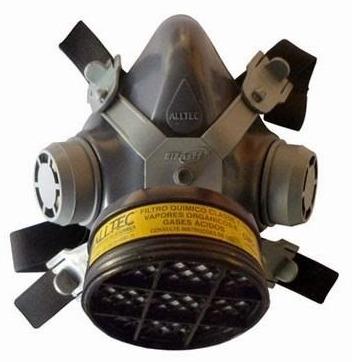 Mascara Facial Simples C  Filtro Para Proteção Contra Formol - R  43 ... 461604e6eb
