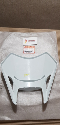 mascara farol optica original honda xr 250 tornado blanco