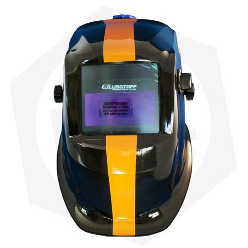 máscara fotosensible lusqtoff profesional ideal tig st-1t