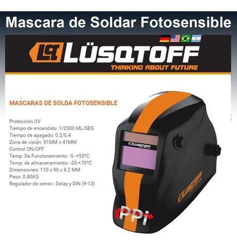 mascara fotosensible lusqtoff st1e 2 sensores 3 regulaciones
