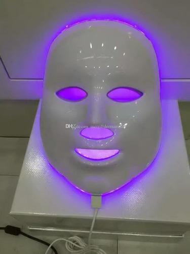 mascara fototerapia facial led 7 colores rejuvenecimiento