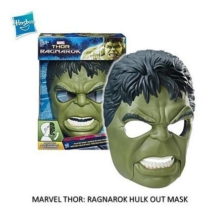 mascara  furia de hulk thor regnarok marvel original