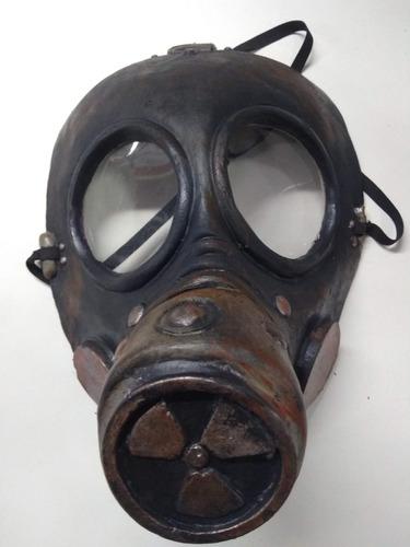 mascara gas mask toxic halloween latex cotillon disfraz