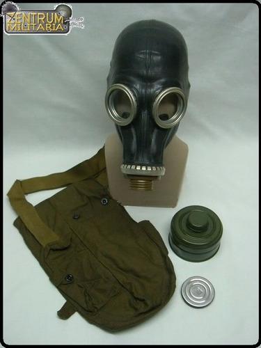 mascara gas preta gp-5 russa sovietica (todos tamanhos)