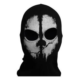 Mascara Ghost  Estilo Call Of Duty Igual A Foto De Aviso M1