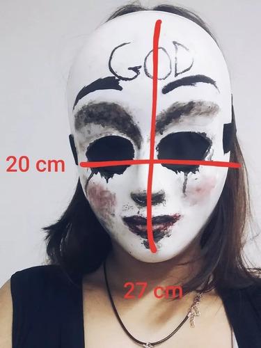 mascara god cosplay terror uma noite de crime(the purge)