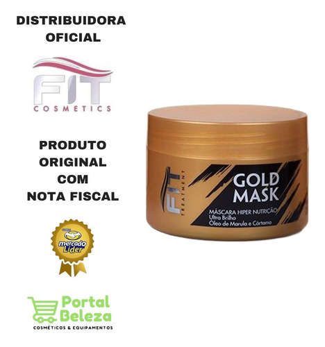mascara gold mask 250g home care - fit cosmetics