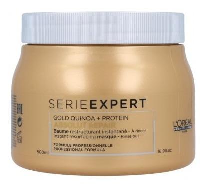 mascara gold quinoa + protein x 500 ml loreal